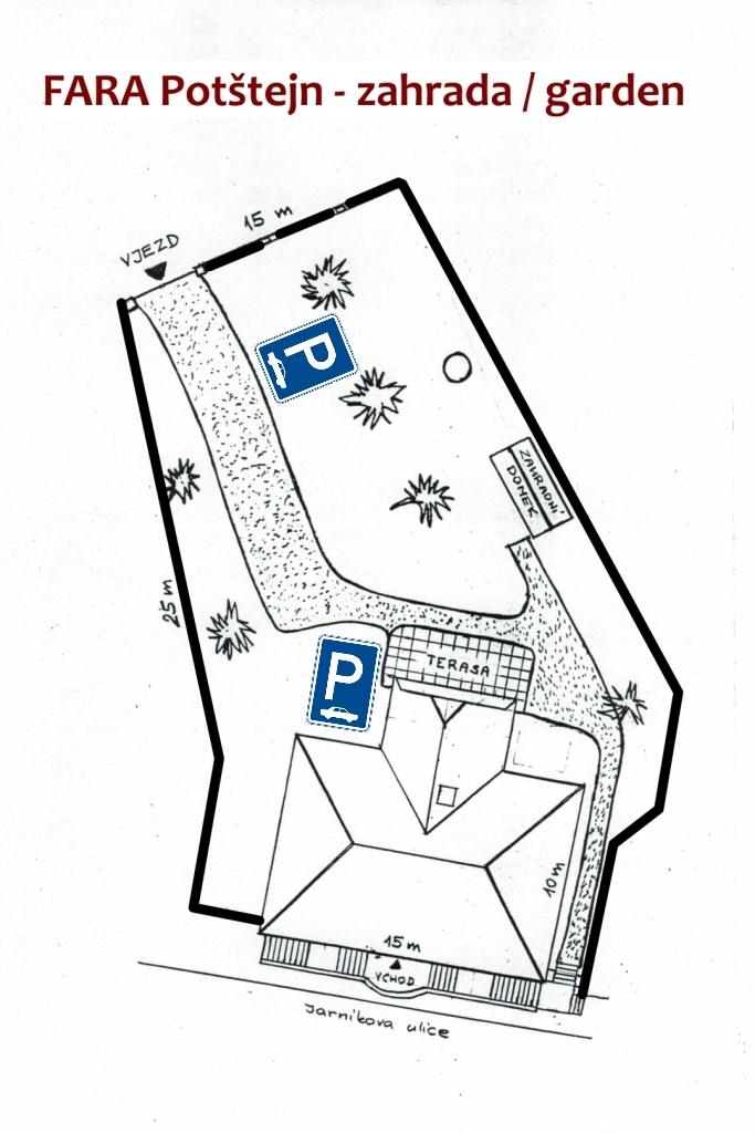 Fara Potštejn - Ubytování ddfcffb80c