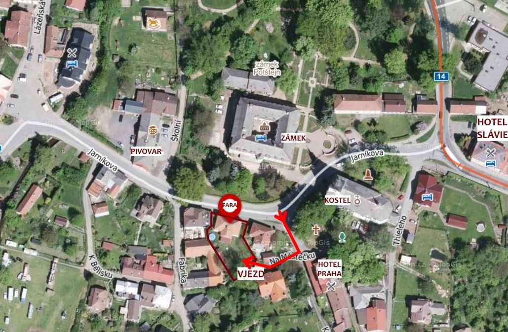 Fara Potštejn - Kontakty a mapy 083d4e8dd6
